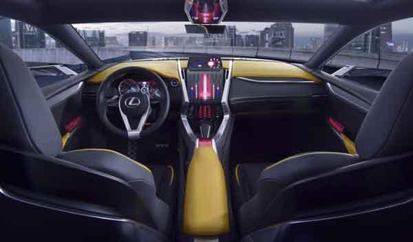 Lexus LF-NX Turbo interior