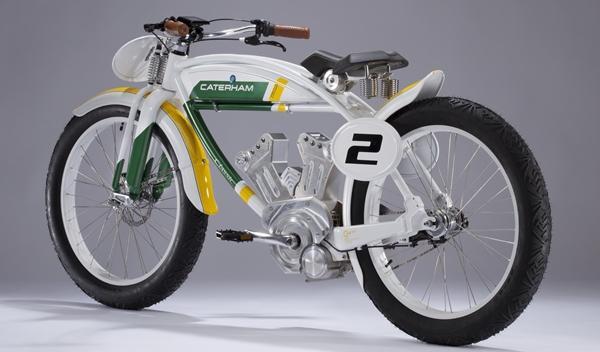 Caterham Classic E-Bike trasera