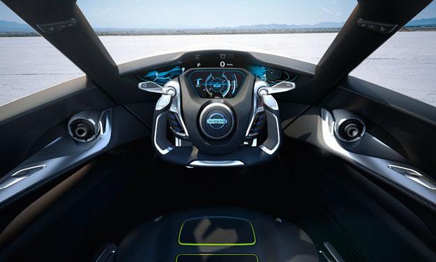 Nissan BladeGlider interior