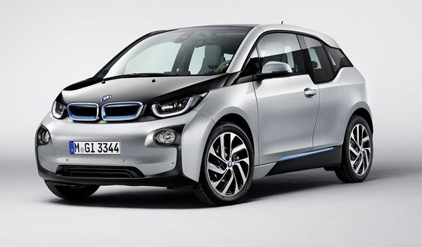 BMW i3 frontal Los Angeles Show 2013