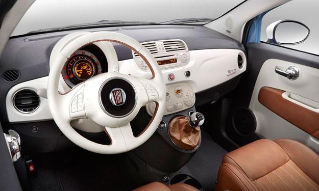 Fiat 500 1957 Edition interior