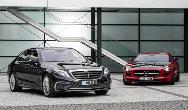 Mercedes S 65 AMG y Mercedes SLS AMG GT Final Edition 2