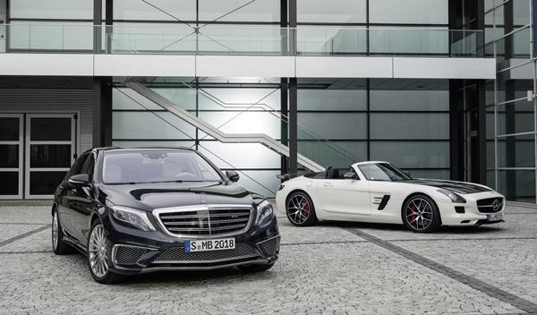 Mercedes S 65 AMG y Mercedes SLS AMG GT Final Edition 3
