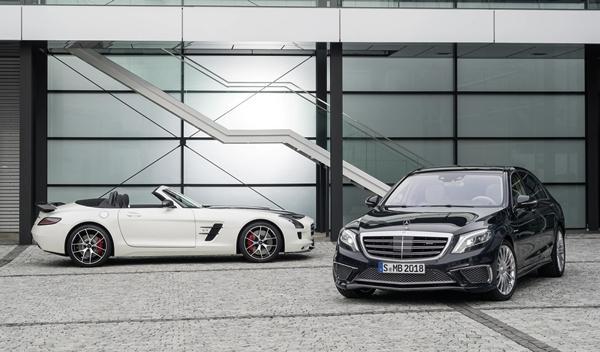Mercedes S 65 AMG y Mercedes SLS AMG GT Final Edition 4