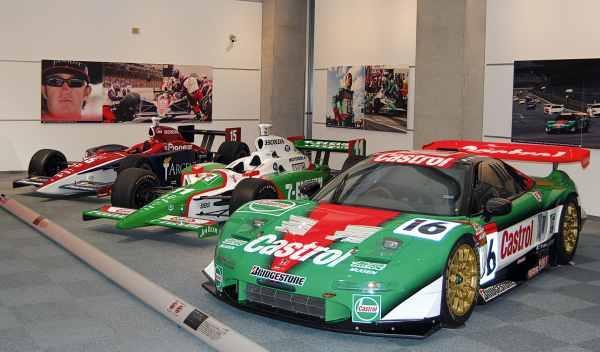 honda nsx de campeonato GT