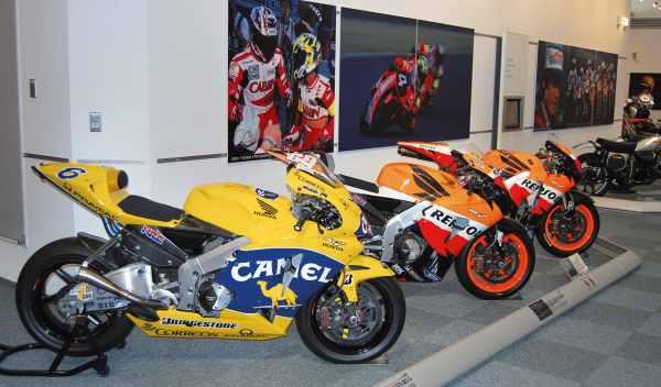motos de motogp museo honda