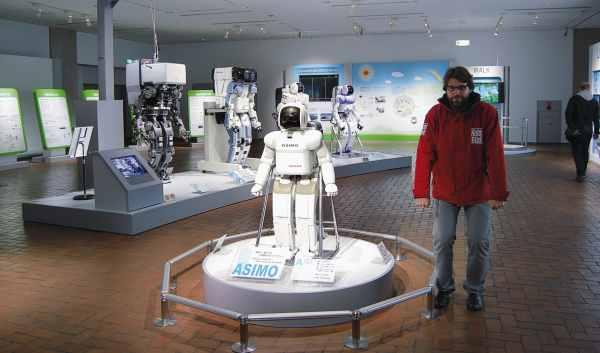 robot asimo museo honda
