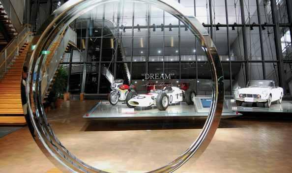 recepción museo honda japón