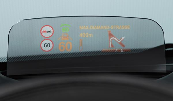 Head-UP-Display nuevo mini