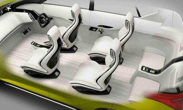 Mitsubishi AR Concept interior