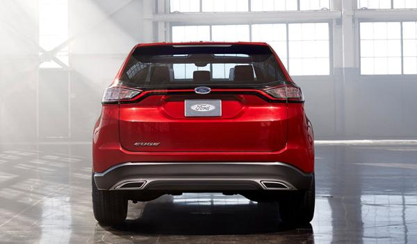 Ford Edge concept barcelona go further