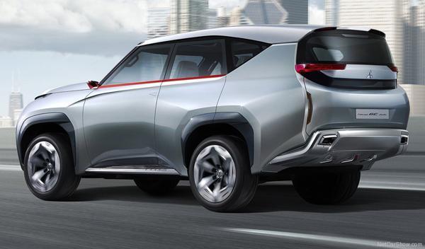 Trasera del Mitsubishi GC-PHEV Concept