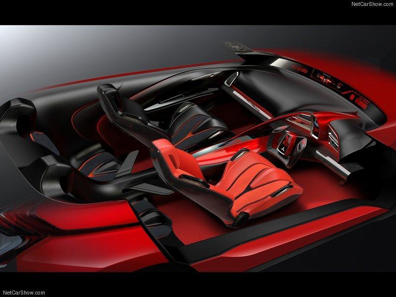 Interior del Mitsubishi XR-PHEV Concept