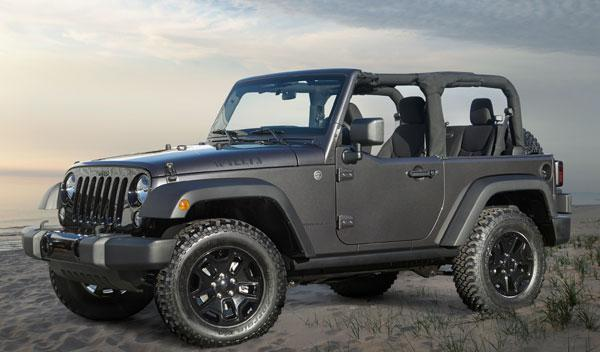 Jeep Wrangler Willys lateral