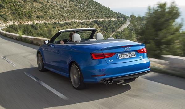 Audi A3 Cabriolet 2014 tres cuartos trasero