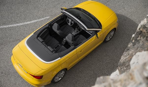 Audi A3 Cabriolet 2014 aérea