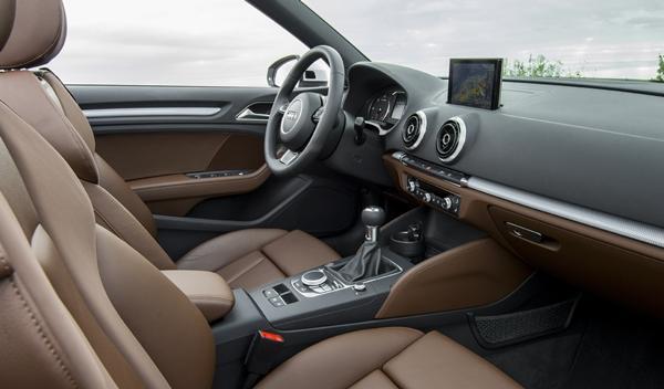 Audi A3 Cabriolet 2014 interior 2