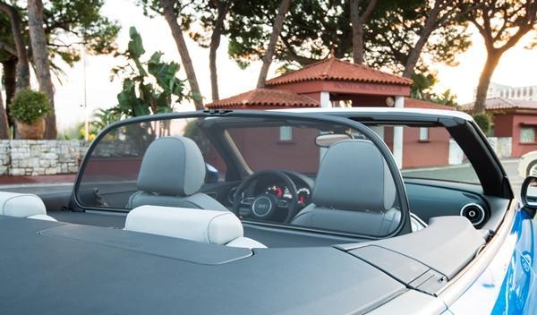 Audi A3 Cabriolet 2014 cortavientos