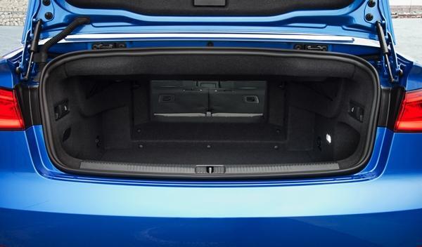 Audi A3 Cabriolet 2014 maletero espacio 2