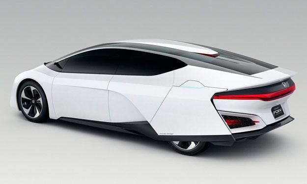 Honda FCEV Concept trasera