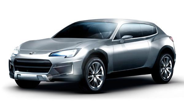 Subaru Cross Sport Design Concept delantera