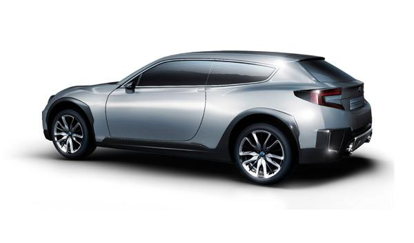 Subaru Cross Sport Design Concept trasera