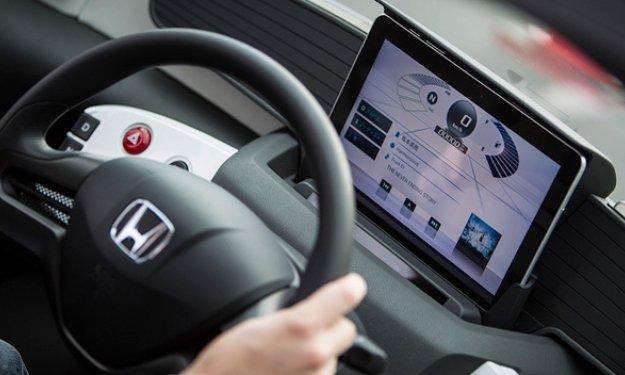 honda micro commuter prototype interior