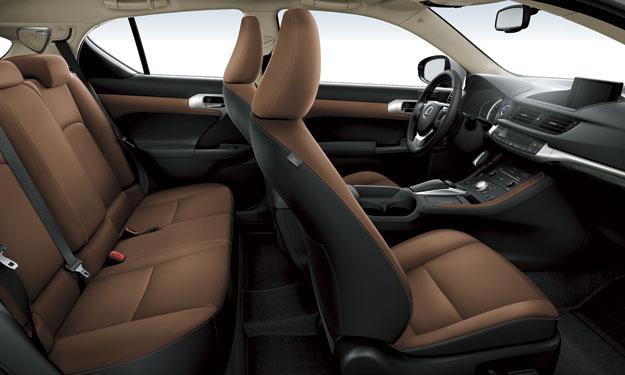 Lexus CT 200h 2014 interior
