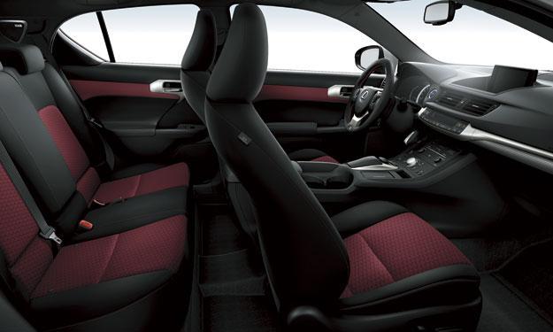 Lexus CT 200h 2014 F-Sport interior