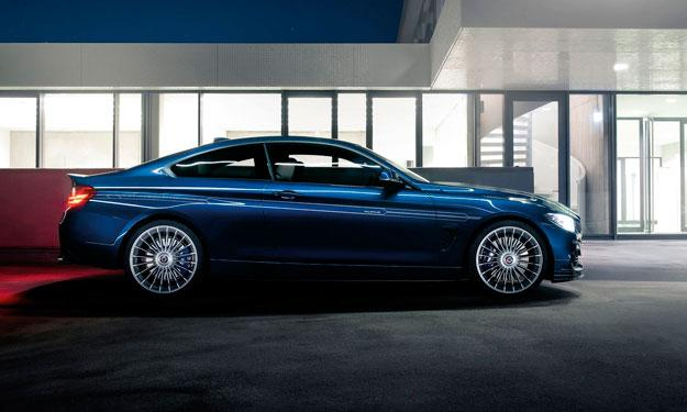 Alpina BMW B4 Coupe Bi-Turbo lateral