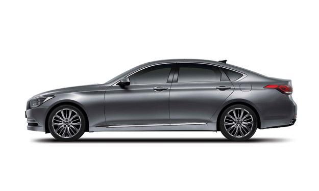 Hyundai Génesis 2014 lateral