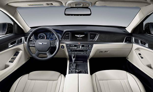 Hyundai Génesis 2014 interior
