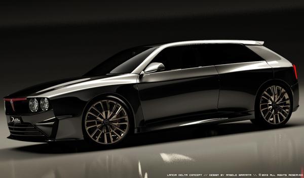 Lancia Delta concept lateral