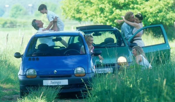 Renault-Twingo-20-años-familia