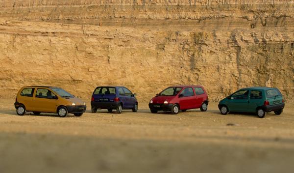 Renault-Twingo-20-años-colores