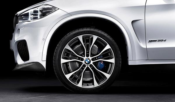 BMW X5 paquete 'M Performance' llantas