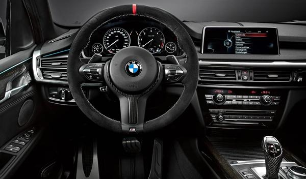 BMW X5 paquete 'M Performance' interior