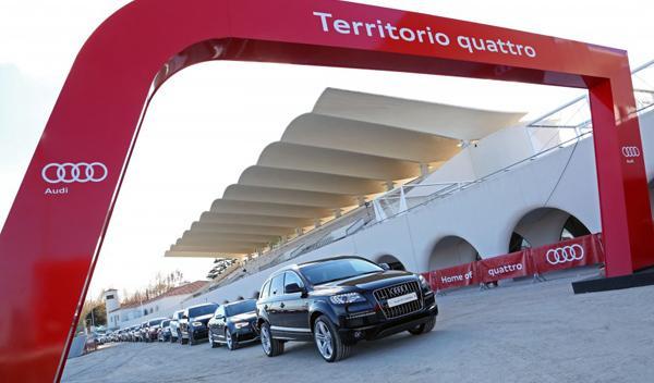 entrega coches audi jugadores real madrid 2013/2014