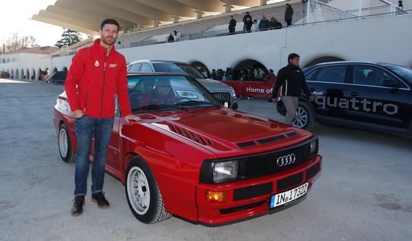Xabi Alonso Audi Sport-quattro