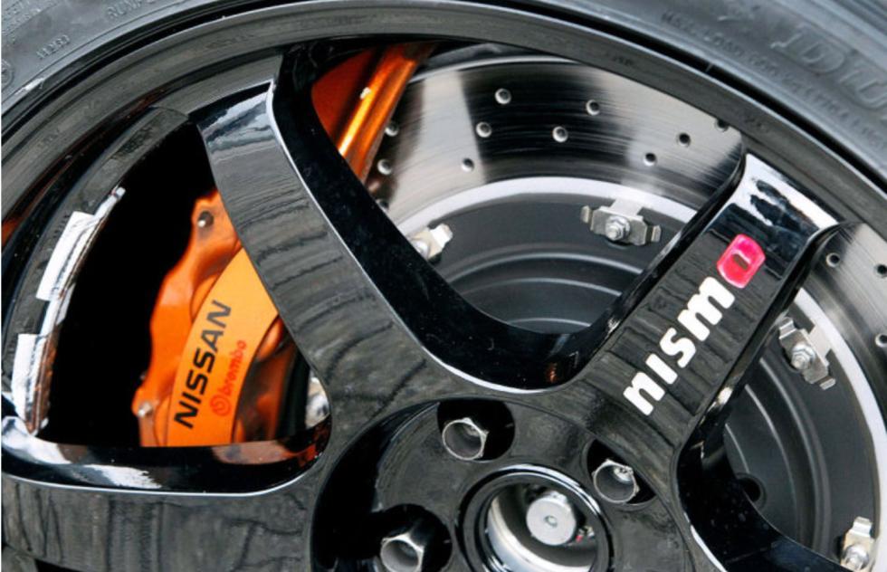 Nissan GT-R Nismo rueda