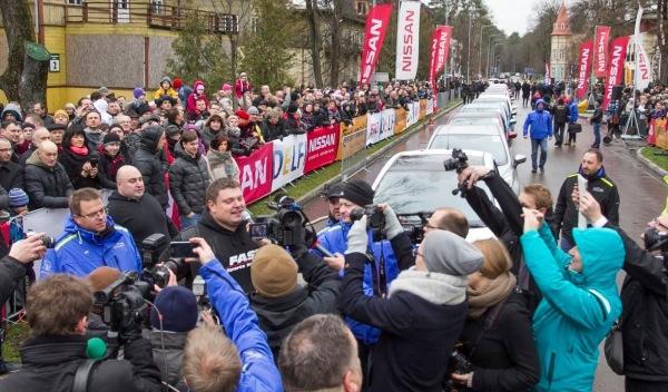 Zydrunas Savicka bate un nuevo récord.