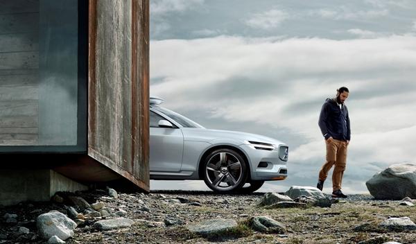 Volvo XC Coupe concept delantera