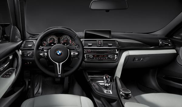 Interior del BMW M3