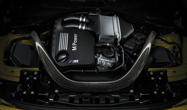 Motor del M4 Coupé