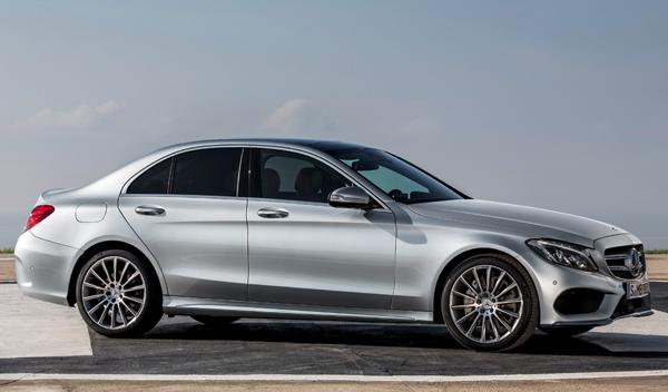 Exterior nuevo Mercedes Clase C