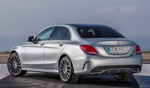 Nuevo Mercedes Clase C trasera