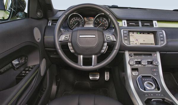Interior Range Rover Evoque Sicilian Yellow Si4