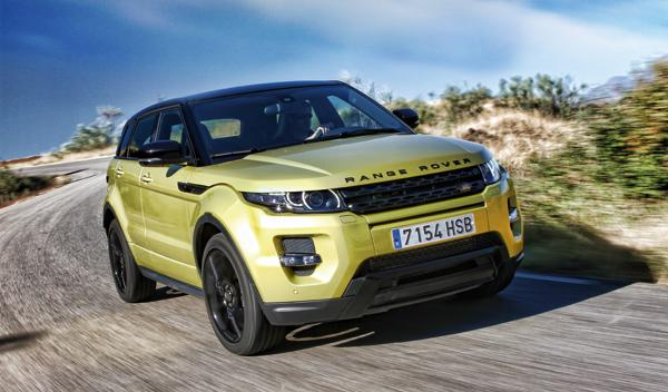 Range Rover Evoque Sicilian Yellow Si4