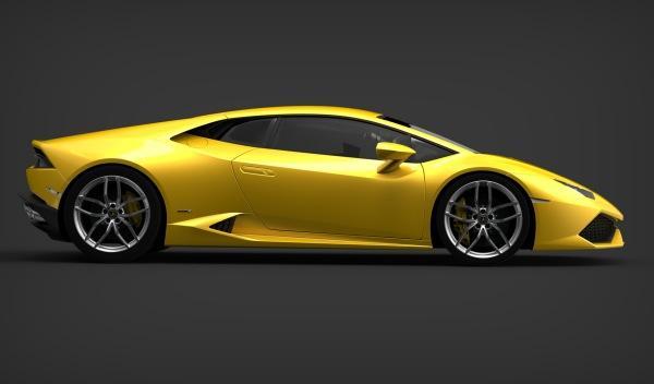 Lamborghini Huracán LP 610-4 lateral