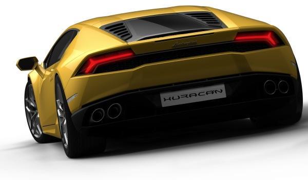 Lamborghini Huracán LP 610-4 trasera